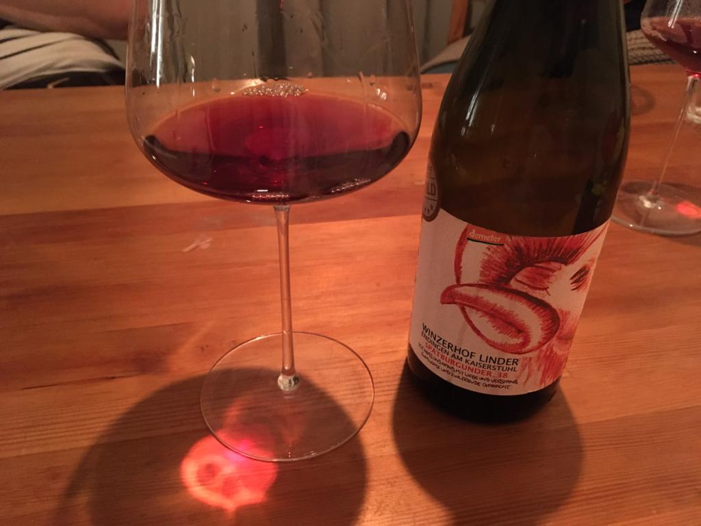 Rotwein vom Winzerhof Linder