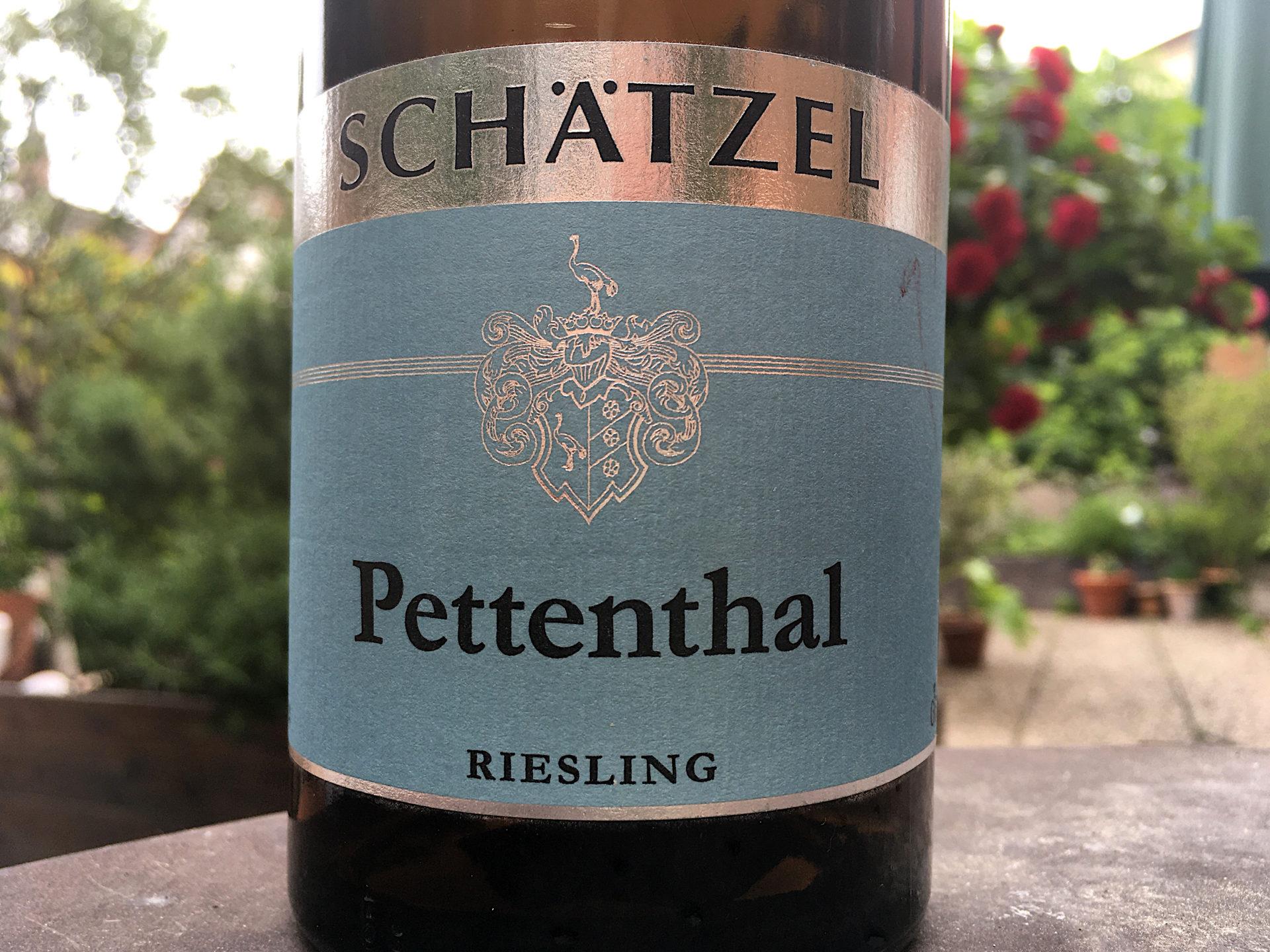 Weingut Schätzel – Pettenthal Riesling Großes Gewächs 2014