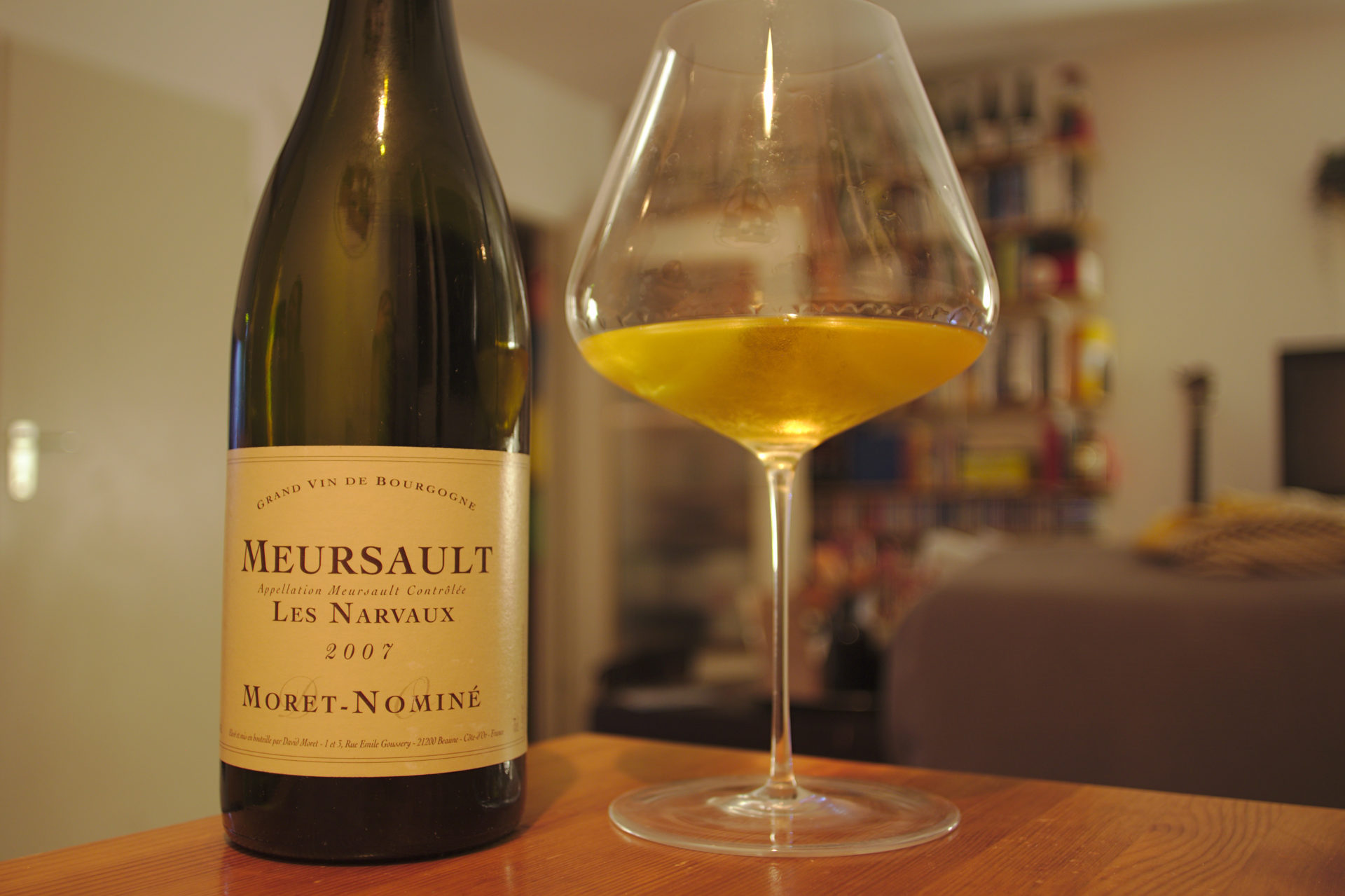 David Moret – Meursault Les Narvaux 2007