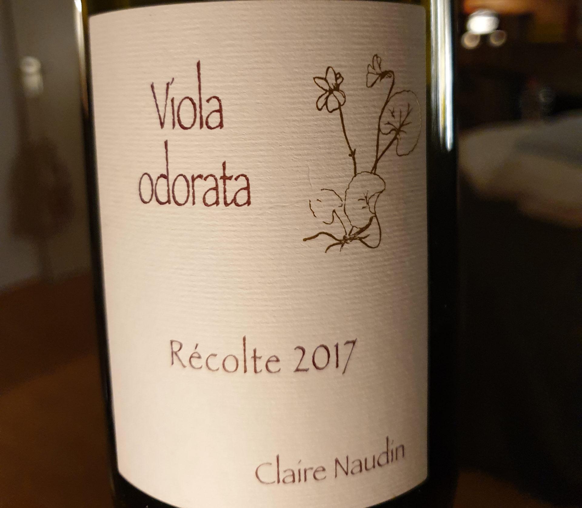 Claire Naudin – Viola Odorata 2017