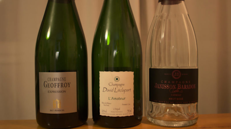Champagner & Speisen